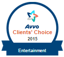 AVVO entertainment law clients choice vonnie dones legal cleanup BADGE