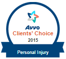 AVVO personal injury law clients choice vonnie dones legal cleanup BADGE