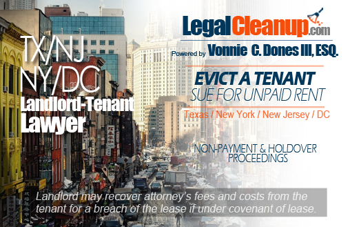 Texas, New York, New Jersey, & DC Landlord-Tenant Lawyer